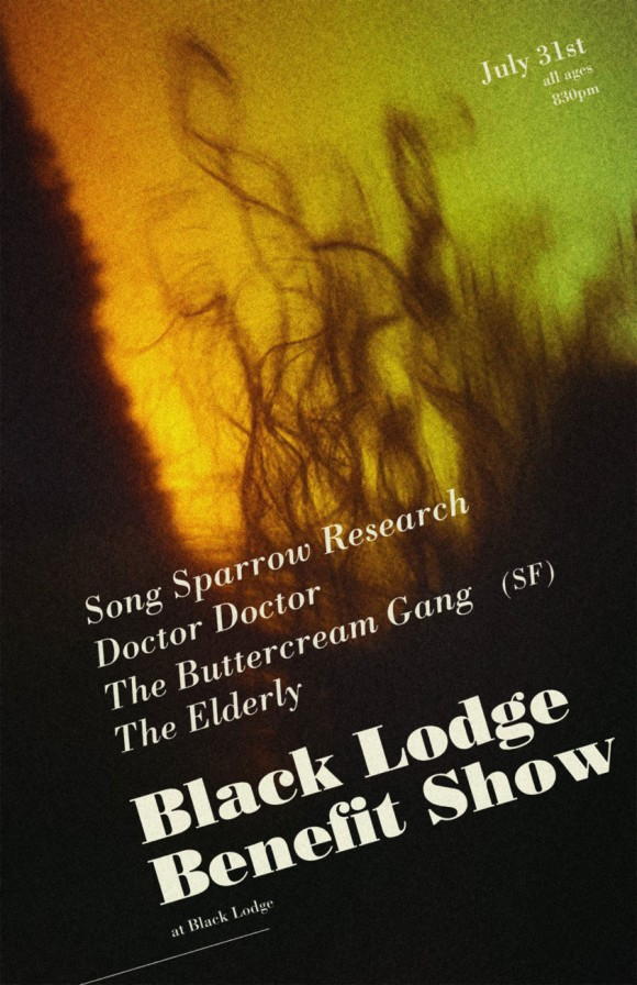 Black Lodge Benefit Show