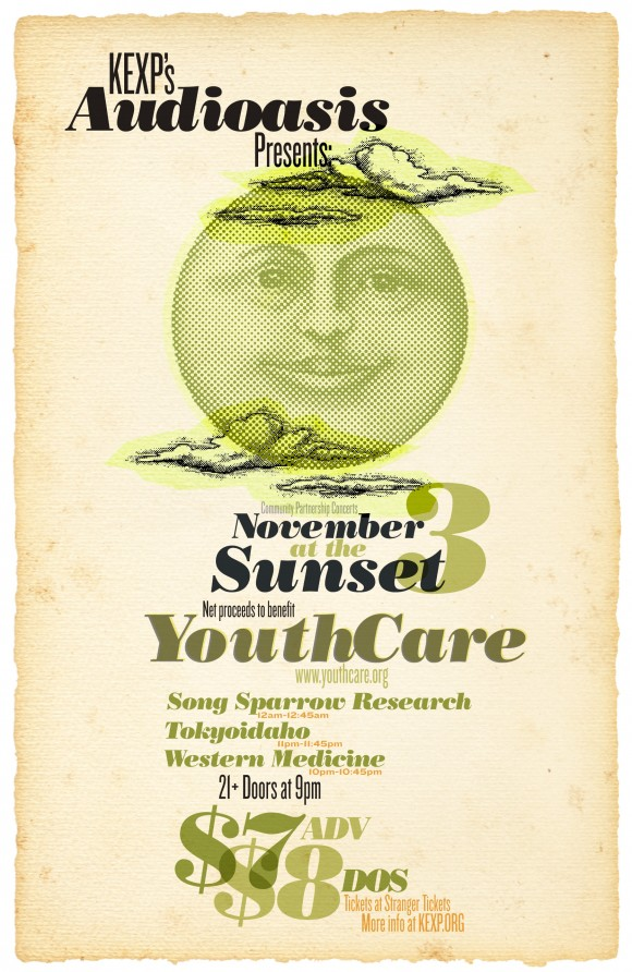 KEXP YouthCare Poster